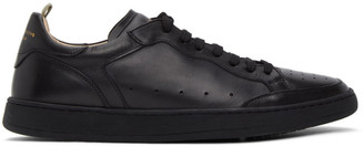 Officine Creative Black Kareem Lux 1 Sneakers