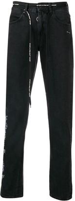 Off-White Logo Strap Jeans