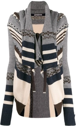 High By Claire Campbell Patterned Cardigan