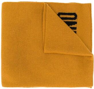 Moschino Intarsia-Knit Scarf