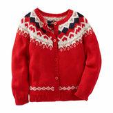 Osh Kosh Oshkosh Long Sleeve Cardigan - Toddler