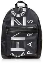 Kenzo Black Nylon Large Kenzo Sport Backpack