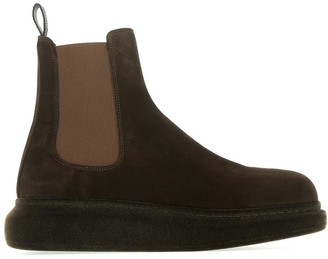 Alexander McQueen Hybrid Chelsea Ankle Boots