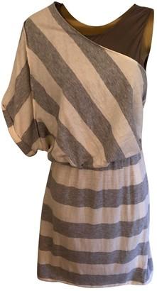 Yigal Azrouel Ecru Cotton Dress for Women