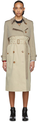 Burberry Beige Deighton Trench Coat
