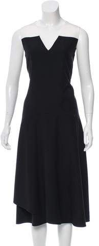 Tome Silk-Paneled Sleeveless Dress w/ Tags