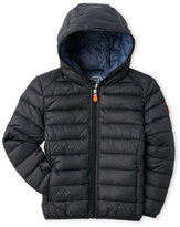 save the duck (Boys 4-7) Giga Hooded Ultra Light Puffer Jacket