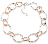 Lauren Ralph Lauren Rose Chic Oval-Link Collar Necklace