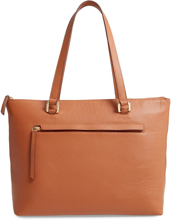 Thumbnail for your product : Nordstrom Lexa Pebbled Leather Tote