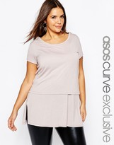 Asos Double Layer T-Shirt With Tank