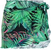 Ermanno Scervino palm kaftan cover-up - women - Polyamide/Spandex/Elastane - M