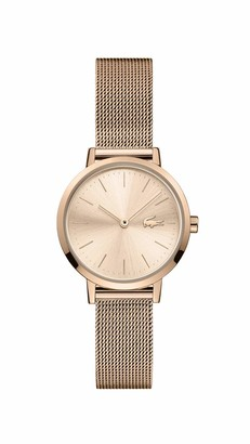 Lacoste Women's Moon Quartz Watch with Stainless Steel Strap