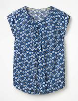 Boden Pleat Front Top