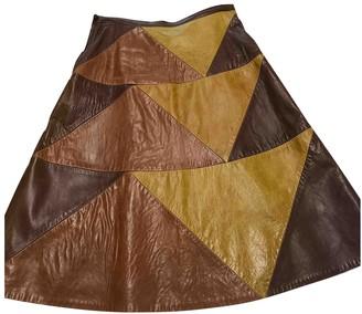 Bernhard Willhelm Leather Skirt for Women