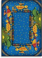 Bed Bath & Beyond Concord Global Dino Chicks 5-Foot 3-Inch x 7-Foot 3-Inch Indoor Rug