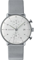 Junghans 027/4003.44 Max Bill stainless steel Chronoscope watch