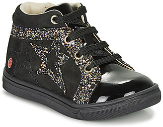 GBB NAVETTE girls's Shoes (High-top Trainers) in Black