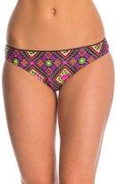 Betsey Johnson Swimwear Bohemian Rose Hipster Bikini Bottom 8140756