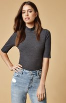 Lucca Couture Veronica Ribbed Crop Top