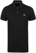 Paul & Shark Black Shark Fit Polo Shirt