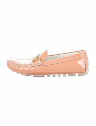 Louis Vuitton Driving Loafers Patent Leather Loafers Pink
