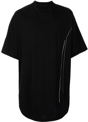 Julius oversized longline T-shirt