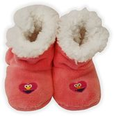 Sesame Street Plush Elmo Booties in Pink