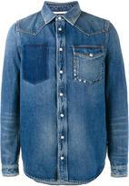 Valentino distressed denim shirt - men - Cotton - 48