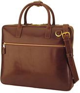 Mulholland 'Slim' Leather Laptop Bag (17 Inch)