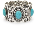 Sole Society Turquoise Chunky Bracelet