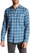 Faherty Seasons Plaid Long Sleeve Regular Fit Shirt