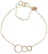 Melissa Joy Manning Triple Link Bracelet - Yellow Gold