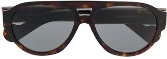 Moncler Tortoiseshell Aviator Sunglasses