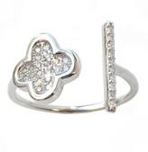 Charlene K Sterling Silver CZ Ring