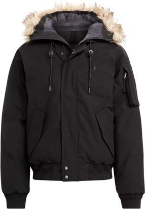 Ralph Lauren Faux Fur-Trim Down Jacket