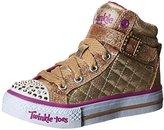 Skechers Shuffles - Sweetheart Sole, Girls' Hi-Top Sneakers, Gold (Gold - )