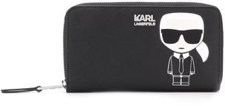 Karl Lagerfeld Paris K/Ikonik zip wallet