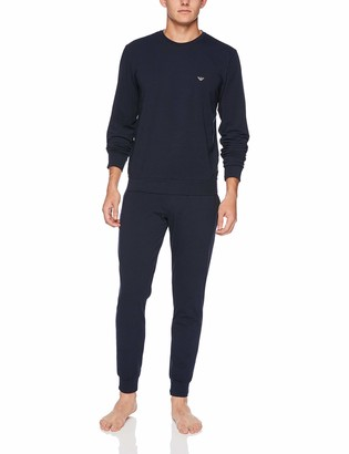 Emporio Armani Men's Pullover Sweater and Pants Loungewear Set