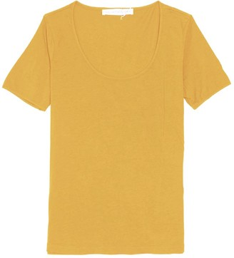 Plays Well With Others The Frequent Flyer Tee in Bee Pollen
