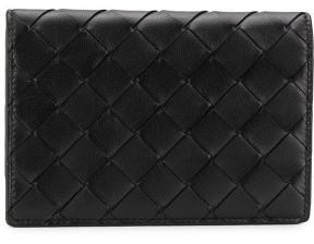 Bottega Veneta Leather Passport Case