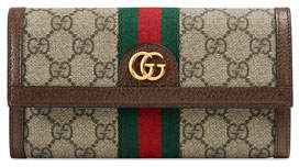 Gucci Ophidia GG Supreme Canvas Wallet