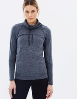 Champion Seamless Long Sleeve Funnel Top