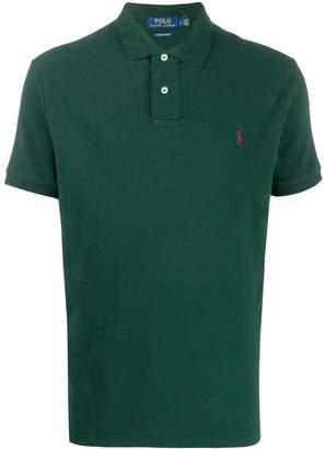 Polo Ralph Lauren contrast logo polo shirt