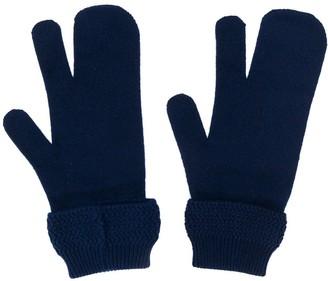 Maison Margiela Tabi four-stitch gloves