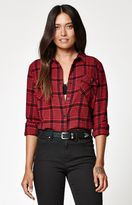 Volcom Lodge Life Plaid Flannel Shirt