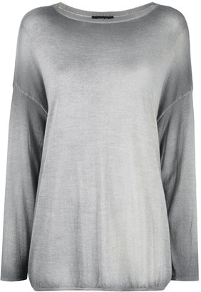 Avant Toi Faded Drop Shoulder Jumper