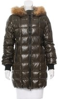 Duvetica Fur-Trimmed Puffer Coat