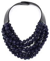 Navy blue jewelry shopstyle the classic bella necklace fandeluxe Images