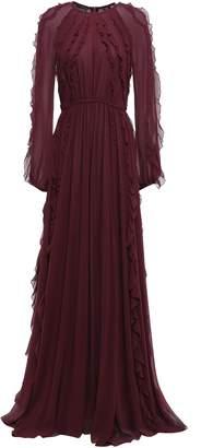 Giambattista Valli Ruffled Silk-georgette Maxi Dress