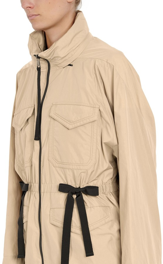 Thumbnail for your product : Moncler Bistre short trench coat